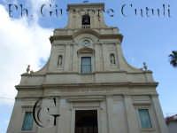 Vista frontale della chiesa Madre si San Giovanni la Punta intitolata a San Giovanni Battista  - San giovanni la punta (4113 clic)