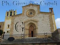 Vista frontale della Chiesa di Custonaci  - Custonaci (2081 clic)