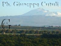 Splendido paesaggio con sfondo dell'Etna ENNA Giuseppe Cutuli