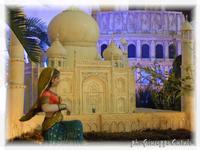 Presepe... Presepe le 7 meraviglie del mondo - Taj Mahal India  - Caltagirone (2203 clic)