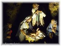 Presepe... Scorcio del Presepe tradizionale  - Caltagirone (2155 clic)