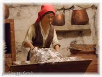 Presepe... Scorcio del Presepe tradizionale  - Caltagirone (1852 clic)