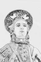 BUSTO DI SAN PROSPERO MARTIRE, PATRONO DEL POPOLO CATENANUOVESE TECNICA: ELABORAZIONE GRAFICA PHOTODELUXE.  - Catenanuova (3180 clic)