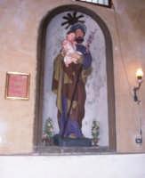 SANTUARIO DI MONTE SCALPELLO: STATUA LIGNEA RAFFIGURANTE SAN GIUSEPPE, FESTA PRIMA DOMENICA DI MAGGIO.    - Catenanuova (1691 clic)