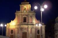 PROSPETTO FRONTALE DELLA CHIESA MARIA SS. IMMACOLATA DI CENTURIPE VISTA DI SERA  - Centuripe (6006 clic)