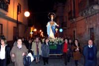 La processione finale lungo le vie del centro storico  - Catenanuova (4484 clic)