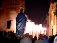 Spettacolo pirotecnico nel piazzale antistante la chiesa Immacolata  - Catenanuova (4720 clic)