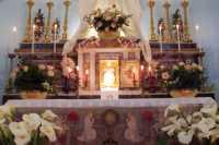 particolare dell'altare della reposizione, per la solenne Adorazione Eucaristica  - Catenanuova (8826 clic)