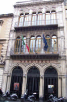 VIA ANTONIO DI SANGIULIANO: PARTICOLARE TEATRO SANGIORGI.  - Catania (3039 clic)