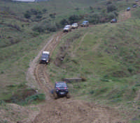off road 4x4 raduno del 16 dicembre 2007 organizzato dal club ciclopi di catania  - Licodia eubea (2242 clic)