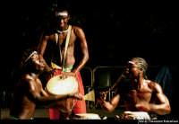 Manifestazione Cheese Art 2006, spettacolo gruppo musicale senegalese  - Donnafugata (3485 clic)