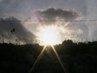 tramonto di campagna  - Scicli (1645 clic)
