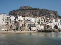 vista del promontorio della rocca che domina il paesaggio di cefalu'  - Cefalù (9189 clic)