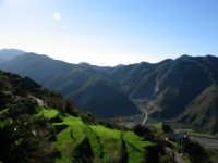 Panorama verso il torrente Mela (1)  - Santa lucia del mela (3906 clic)
