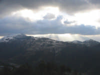 Montagne innevate  - Santa lucia del mela (4211 clic)