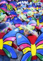 Viva Cernevale......sciame di farfalline  - Bagheria (4763 clic)