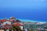 Panorama del litorale tirrenico visto da San Marco D'Alunzio.  - San marco d'alunzio (9995 clic)