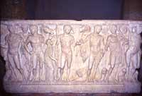Il sarcofago con scene tratte dal mito di Fedra nella chiesa di San Nicola ad Agrigento  - Agrigento (10211 clic)