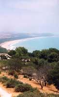Costa dell'agrigentino vista da Eraclea Minoa  - Eraclea minoa (5507 clic)