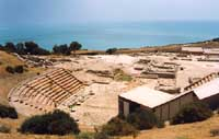 Teatro Greco di Eraclea Minoa  - Eraclea minoa (4865 clic)