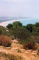 Costa dell'agrigentino vista da Eraclea Minoa  - Eraclea minoa (3645 clic)