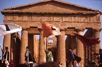 Festa del Mandorlo in Fiore - tempio della concordia  - Agrigento (5275 clic)