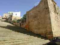 La scalinata che da Via Dante porta al Duomo Vecchio  - Naro (2244 clic)
