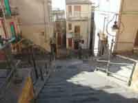 Scalinata antistante la Chiesa Madre  - Naro (4826 clic)