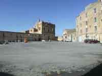 Piazza Padre Favara e Chiesa di Sant'Agostino con Convento annesso  - Naro (4336 clic)