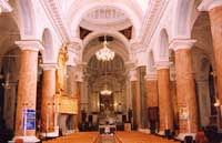 Chiesa Madre (Santa Maria del Rosario) di Palma di Montechiaro - interno  - Palma di montechiaro (15254 clic)