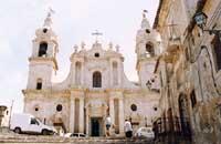 Chiesa Madre (Santa Maria del Rosario) di Palma di Montechiaro  - Palma di montechiaro (5279 clic)