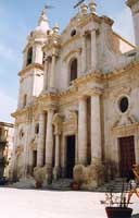 Chiesa Madre (Santa Maria del Rosario) di Palma di Montechiaro  - Palma di montechiaro (3900 clic)