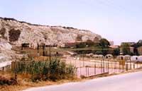Vista verso il teatro  Costabianca, campo sportivo e centro colonie per giovani  - Realmonte (4994 clic)