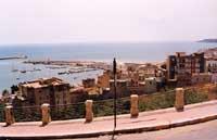 Panorama sul Porto di Sciacca  - Sciacca (7173 clic)