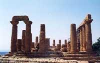 Tempio di Giunone o Hera Lacinia  - Valle dei templi (7436 clic)
