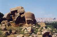 Tempio di Giove Olimpico  - Valle dei templi (10328 clic)