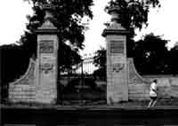 portale di ingresso di Villa Grazia  - Modica (5543 clic)