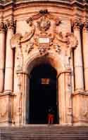 particolare della Chiesa di San  Giorgio  - Modica (2356 clic)
