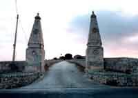 portale d'ingresso di Villa Polara  a Modica  - Modica (5245 clic)