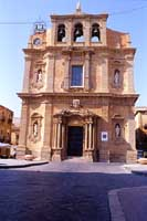 Chiesa Madre in Piazza Vittorio Emanuele  - Niscemi (9941 clic)