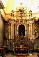 Interno Chiesa del Carmine - altare MODICA Comune di Modica