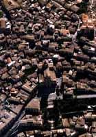 Panorama aereo - Duomo di San Giorgio visto dall'alto MODICA Comune di Modica