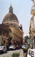 La Cupola della Chiesa di San Biagio  - Aci sant'antonio (6100 clic)