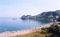 La spiaggia di Letojanni   - Letoianni (11776 clic)