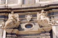 Teatro Bellini - (o chiesa di santa lucia ?) ADRANO Giambattista Scivoletto