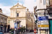 Chiesa del Rosario e corso Umberto I  - Bronte (9884 clic)