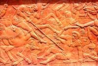 Terracotta raffigurante una battaglia contro i saraceni CALTAGIRONE Giuseppe Iacono