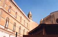Palazzo dell'Aquila (Municipio) (retro) CALTAGIRONE Giambattista Scivoletto