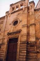 Ingresso ex Officina elettrica in via S. Giovanni Bosco. Prospetto liberty di G.B. Basili  - Caltagirone (3126 clic)