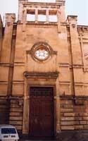 Ingresso Ex Officina elettrica in via S. Giovanni Bosco. Prospetto liberty di G.B.Basile  - Caltagirone (4418 clic)